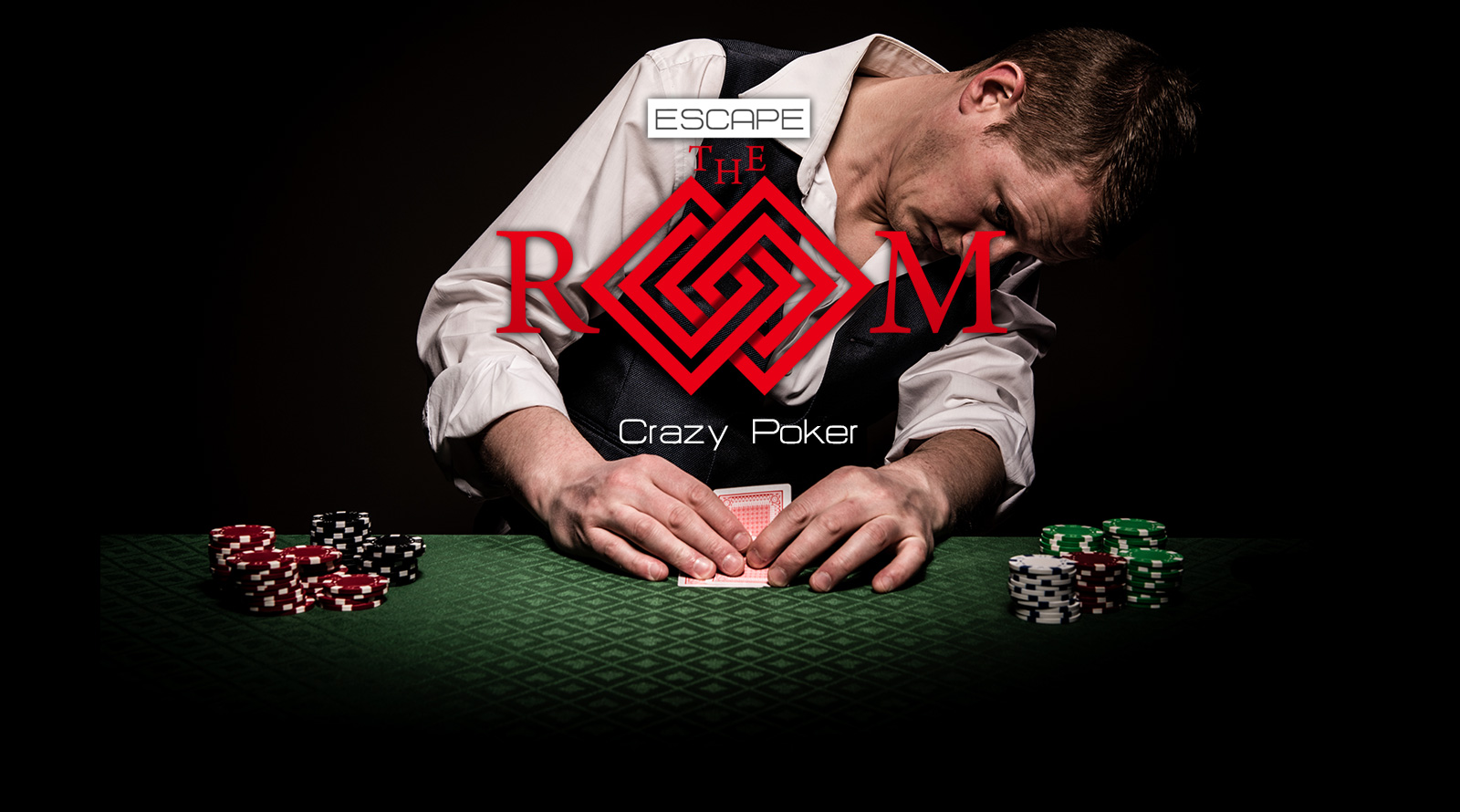 Escape the Room Exit Games Crazy Poker